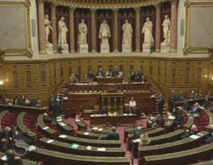 Au Sénat le 14 décembre 2009