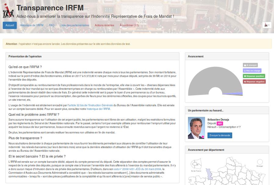 obtenons la transparence de l'IRFM