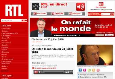 RTL On Refait le Monde